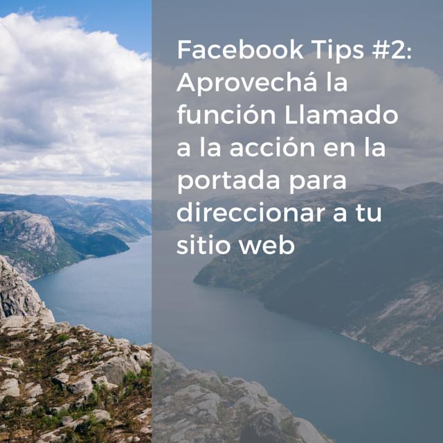 FB tip 2 Llamado a la acción