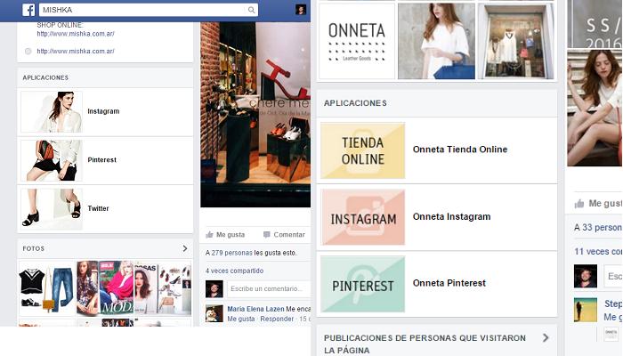 Aplicaciones para pagina de Facebook